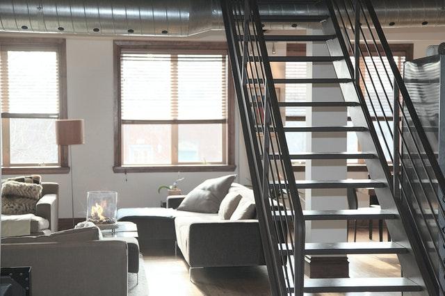 Réalisation d'un escalier à Montaigu par SMCM